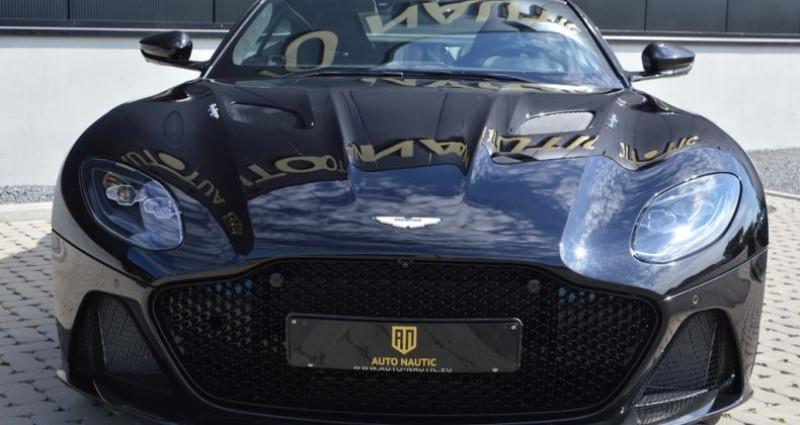 Aston martin DBS Superleggera 5.2i V12 725ch 1 MAIN !! 6.200 km !! Noir occasion à Lille - photo n°3