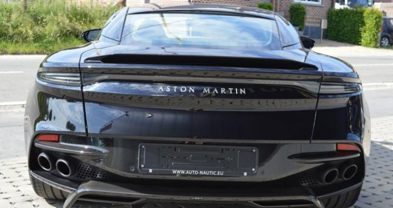 Aston martin DBS Superleggera 5.2i V12 725ch 1 MAIN !! 6.200 km !! Noir occasion à Lille - photo n°4