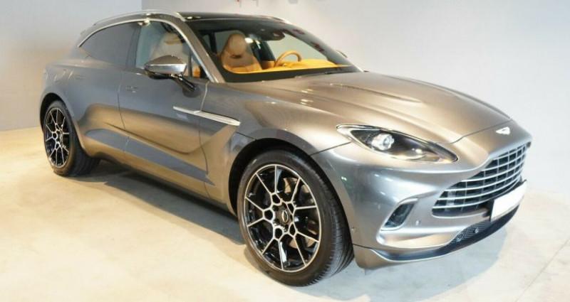 Aston martin DBX V8 4.0L Bi-Turbo Gris occasion à Boulogne-Billancourt