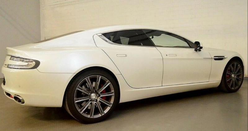 Aston martin Rapide 5.9 477 V12 TOUCHTRONIC Blanc occasion à Saint Patrice - photo n°6