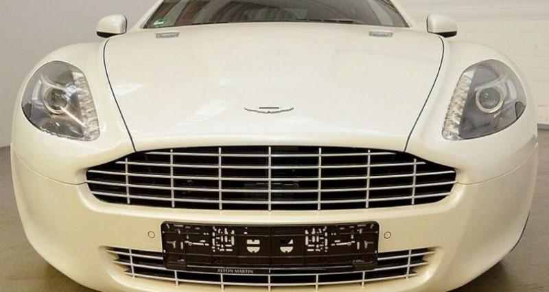 Aston martin Rapide 5.9 477 V12 TOUCHTRONIC Blanc occasion à Saint Patrice - photo n°2