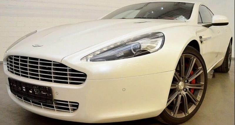 Aston martin Rapide 5.9 477 V12 TOUCHTRONIC Blanc occasion à Saint Patrice - photo n°4