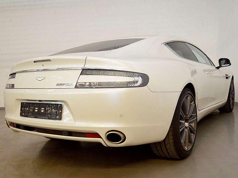 Aston martin Rapide 6.0 V12 Touchtronic 476 CH Blanc occasion à BEAUPUY - photo n°3
