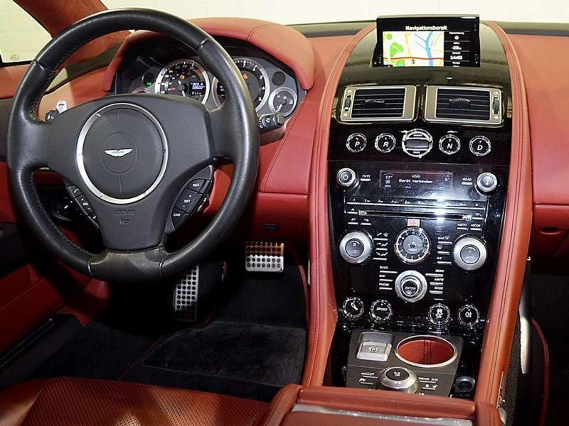 Aston martin Rapide 6.0 V12 Touchtronic 476 CH Blanc occasion à BEAUPUY - photo n°2