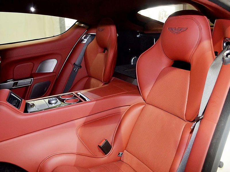 Aston martin Rapide 6.0 V12 Touchtronic 476 CH Blanc occasion à BEAUPUY - photo n°5