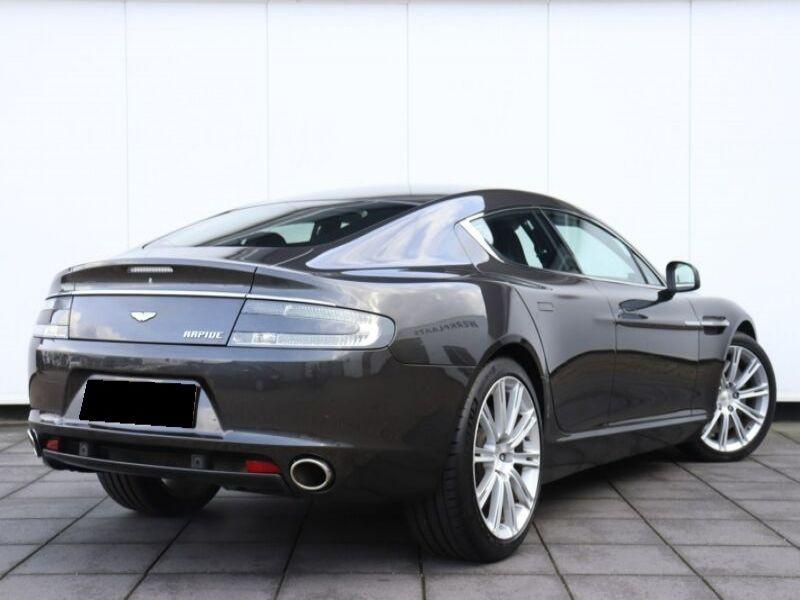 Aston martin Rapide 6.0 V12 Touchtronic 476 CH Noir occasion à BEAUPUY - photo n°3