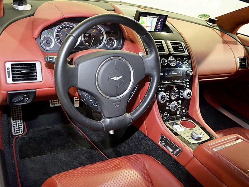 Aston martin Rapide 6.0 V12 Touchtronic 476 CH Blanc occasion à BEAUPUY - photo n°6