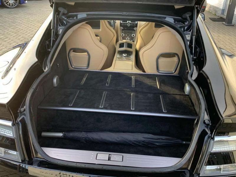 Aston martin Rapide 6.0 V12 Touchtronic 476 CH Noir occasion à BEAUPUY - photo n°9