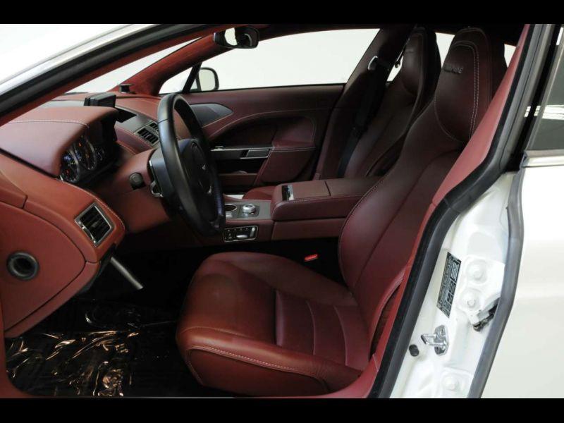 Aston martin Rapide 6.0 V12 Touchtronic 476 CH Blanc occasion à BEAUPUY - photo n°4