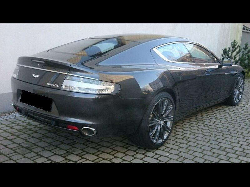 Aston martin Rapide 6.0 V12 Touchtronic 476 CH Gris occasion à BEAUPUY - photo n°3