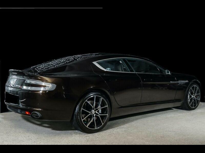 Aston martin Rapide S 6.0 V12 557 CH Noir occasion à BEAUPUY - photo n°3