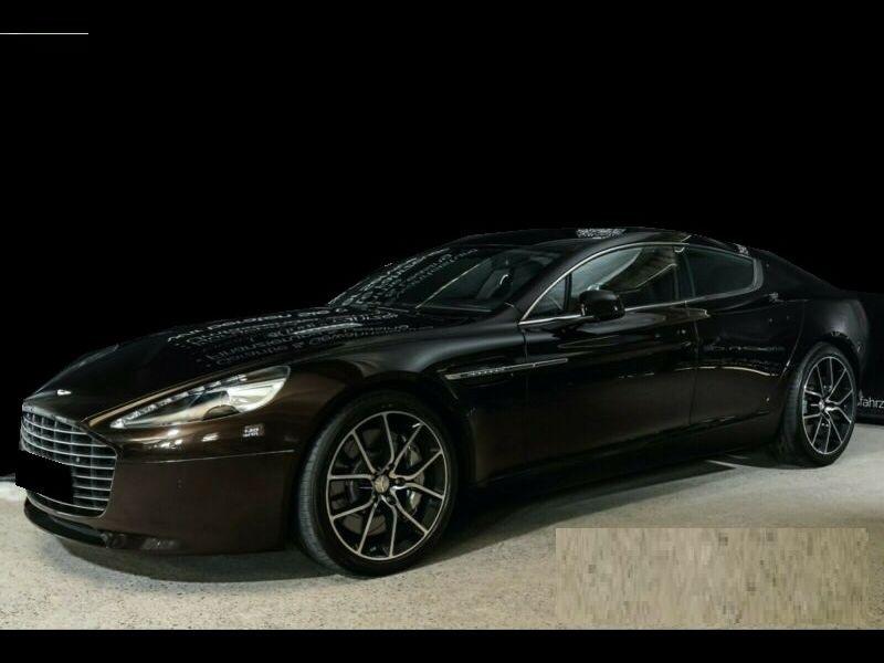 Aston martin Rapide S 6.0 V12 557 CH Noir occasion à BEAUPUY