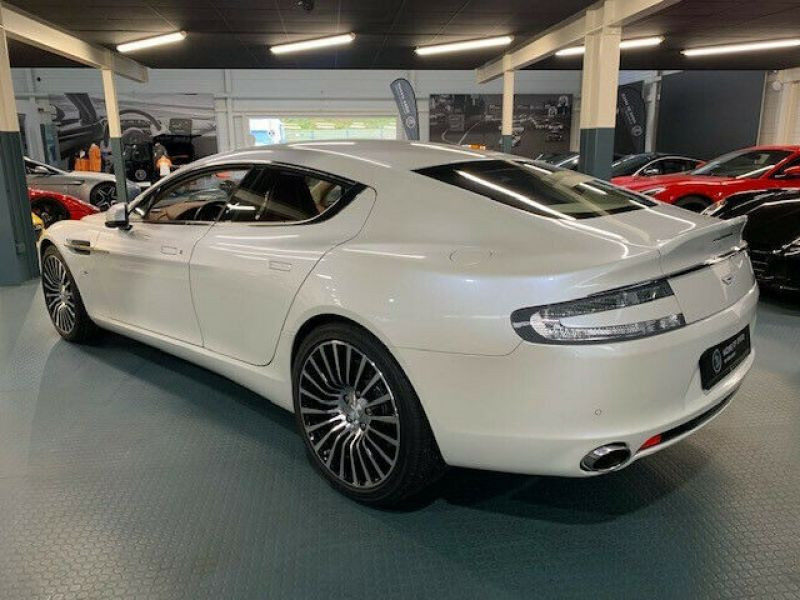 Aston martin Rapide S 6.0 V12 557 CH Blanc occasion à BEAUPUY - photo n°3