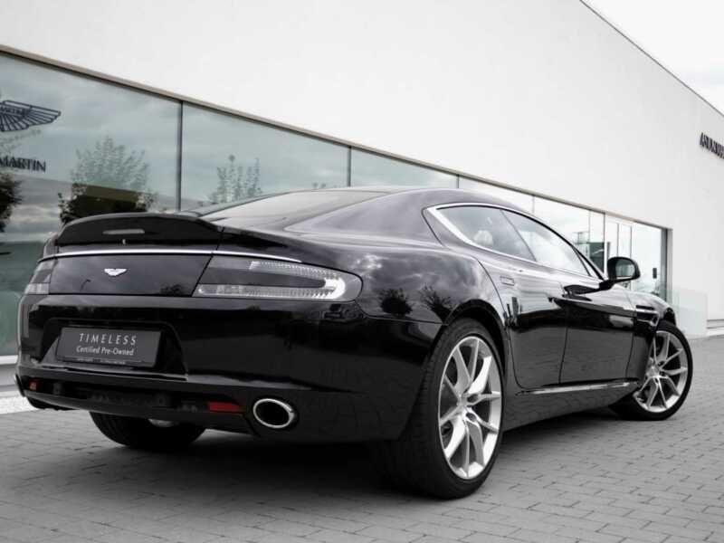 Aston martin Rapide S 6.0 V12 560 CH Noir occasion à BEAUPUY - photo n°3