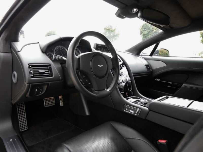 Aston martin Rapide S 6.0 V12 560 CH Noir occasion à BEAUPUY - photo n°4