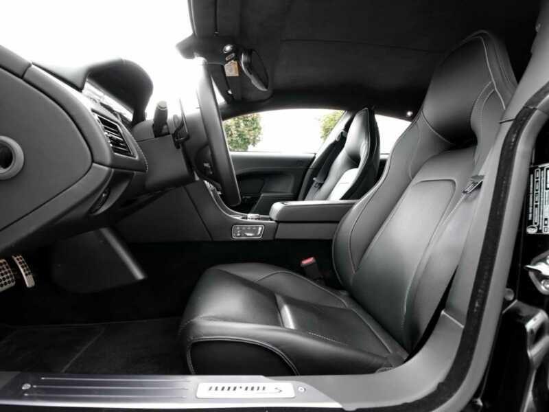 Aston martin Rapide S 6.0 V12 560 CH Noir occasion à BEAUPUY - photo n°7