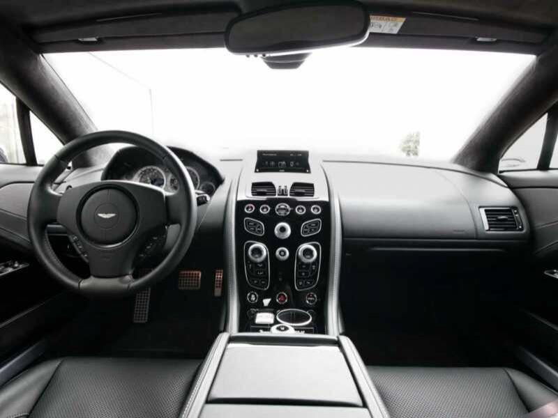 Aston martin Rapide S 6.0 V12 560 CH Noir occasion à BEAUPUY - photo n°2