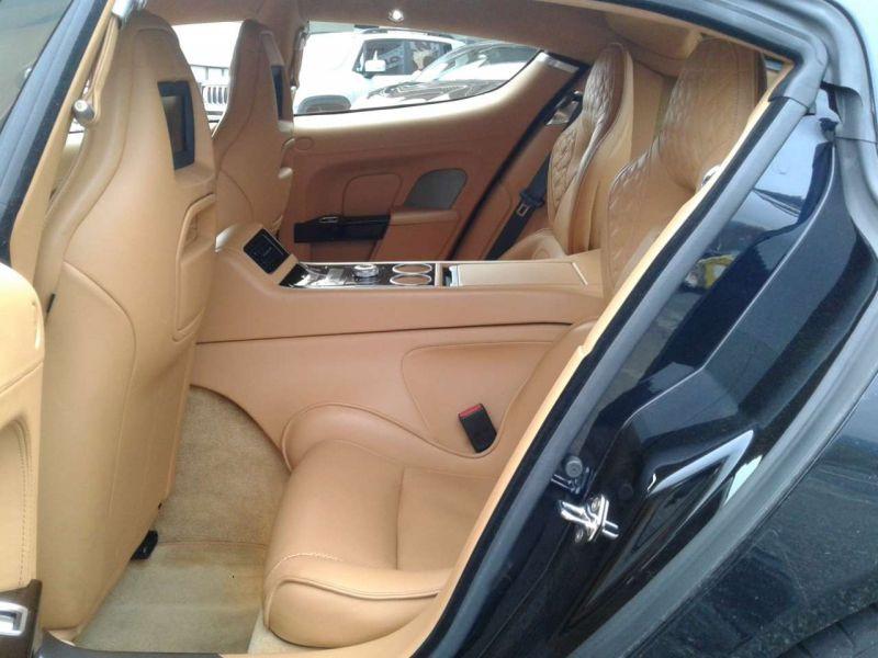 Aston martin Rapide S 6.0 V12 560 CH Noir occasion à BEAUPUY - photo n°5
