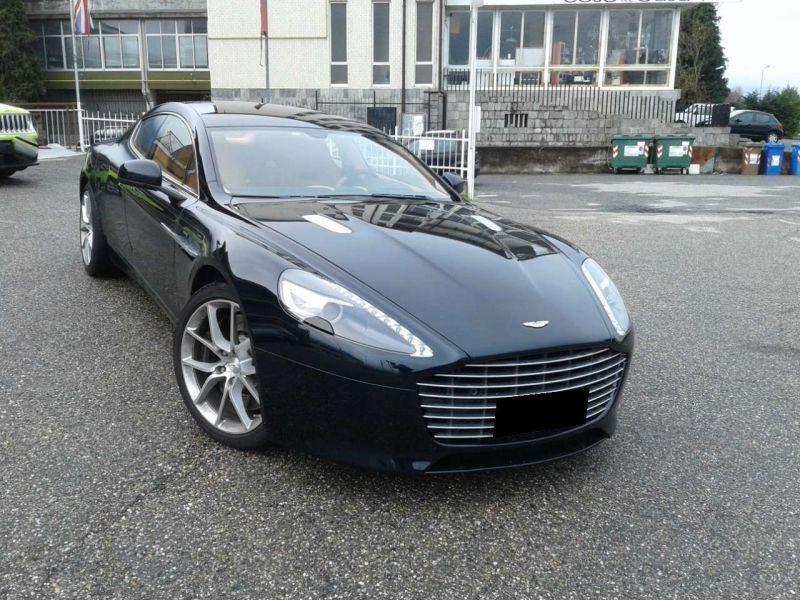 Aston martin Rapide S 6.0 V12 560 CH Noir occasion à BEAUPUY - photo n°6