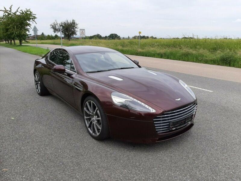 Aston martin Rapide S 6.0 V12 560 CH Marron occasion à BEAUPUY - photo n°9