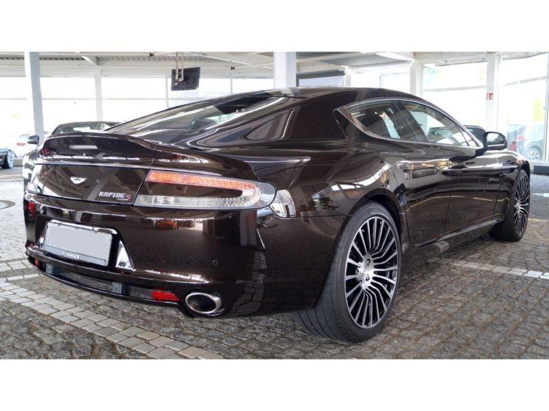Aston martin Rapide S 6.0 V12 Touchtronic Marron occasion à Beaupuy - photo n°3