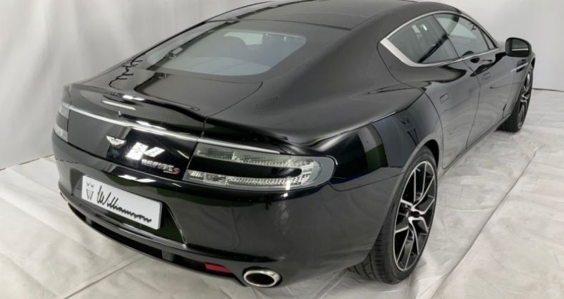 Aston martin Rapide s v12 560hpe 2 Noir occasion à Neuilly Sur Seine - photo n°4