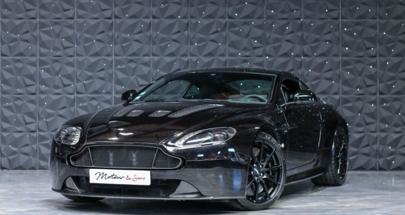 Aston martin V12 Vantage S 573CH SPORTSHIFT III Noir occasion à CHAVILLE