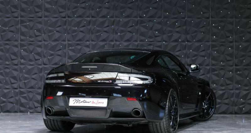 Aston martin V12 Vantage S 573CH SPORTSHIFT III Noir occasion à CHAVILLE - photo n°2
