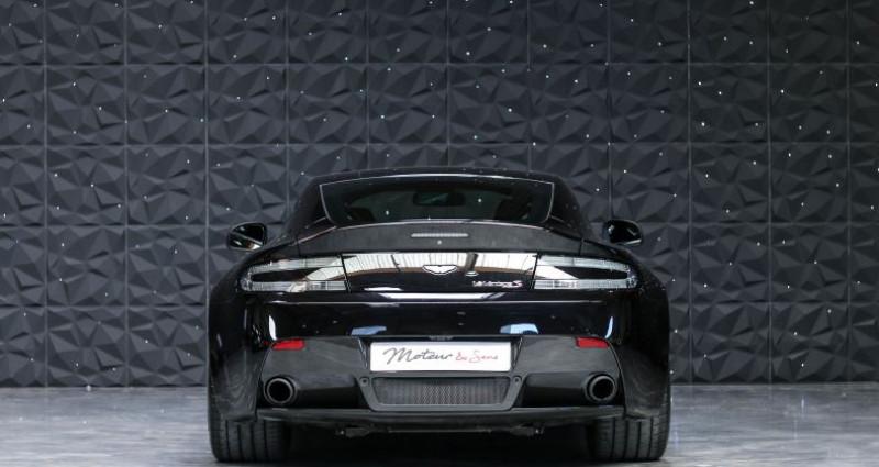 Aston martin V12 Vantage S 573CH SPORTSHIFT III Noir occasion à CHAVILLE - photo n°4