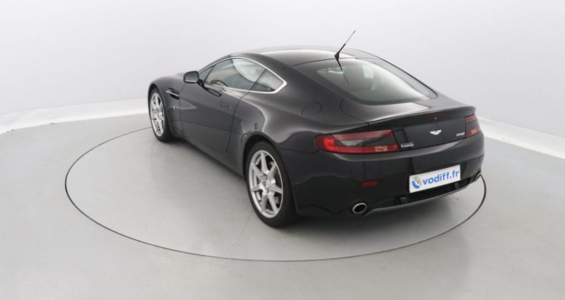Aston martin V8 Vantage 4.3 385 CV Noir occasion à Entzheim - photo n°2