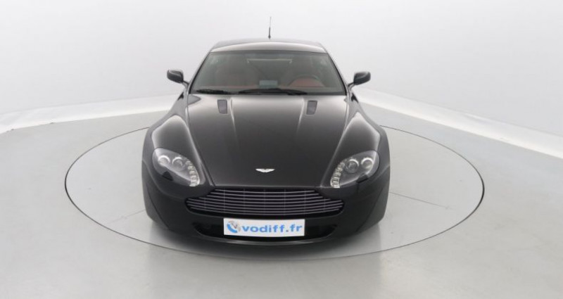 Aston martin V8 Vantage 4.3 385 CV Noir occasion à Entzheim - photo n°4