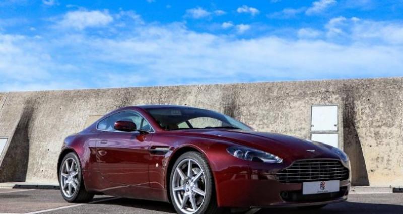 Aston martin V8 Vantage 4.3 Boite Mécanique Bordeaux occasion à MONACO - photo n°3