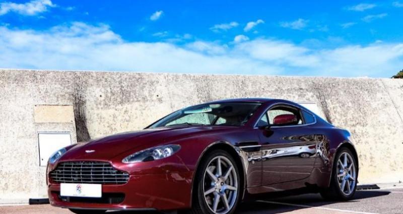 Aston martin V8 Vantage 4.3 Boite Mécanique Bordeaux occasion à MONACO