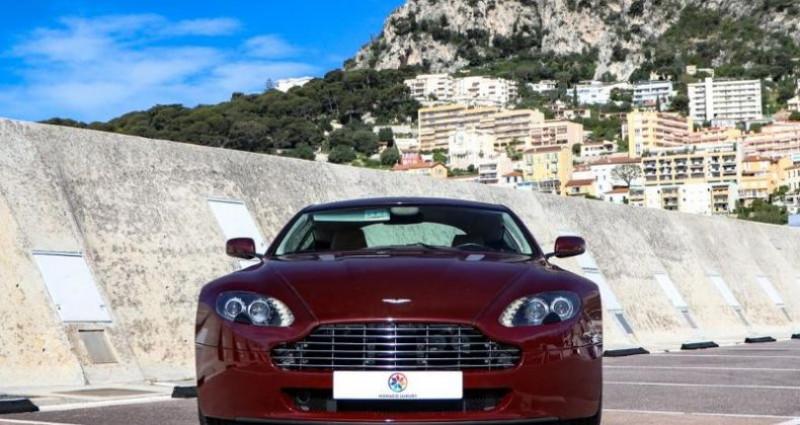 Aston martin V8 Vantage 4.3 Boite Mécanique Bordeaux occasion à MONACO - photo n°2