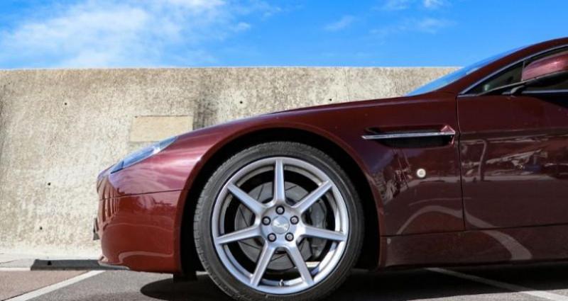 Aston martin V8 Vantage 4.3 Boite Mécanique Bordeaux occasion à MONACO - photo n°7