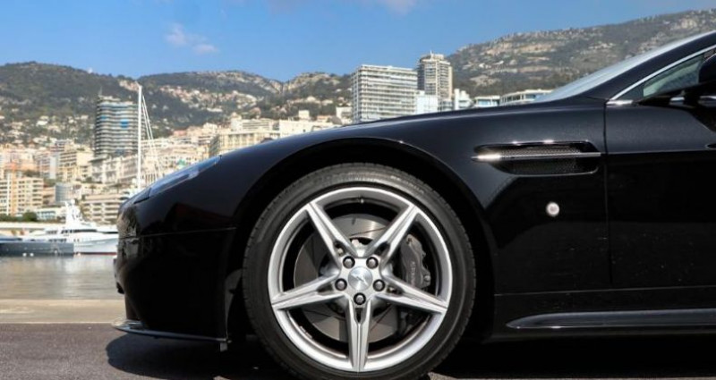 Aston martin V8 Vantage 4.7 430ch S Sportshift II Noir occasion à MONACO - photo n°7