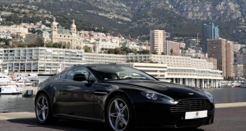 Aston martin V8 Vantage 4.7 430ch S Sportshift II Noir occasion à MONACO - photo n°3