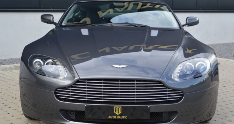Aston martin V8 Vantage 4.7i 426 ch 40.000 km !! Superbe état ! Gris occasion à Lille - photo n°3