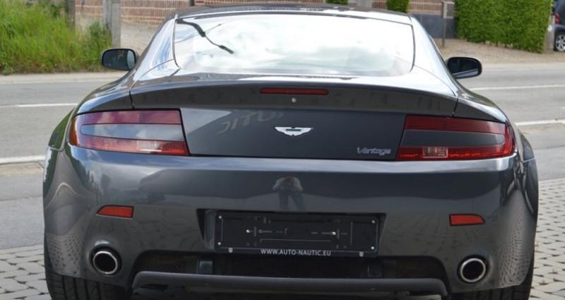 Aston martin V8 Vantage 4.7i 426 ch 40.000 km !! Superbe état ! Gris occasion à Lille - photo n°4