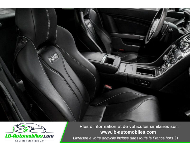 Aston martin V8 Vantage V8 4.7 426 ch Sportshift N420 Gris occasion à Beaupuy - photo n°9
