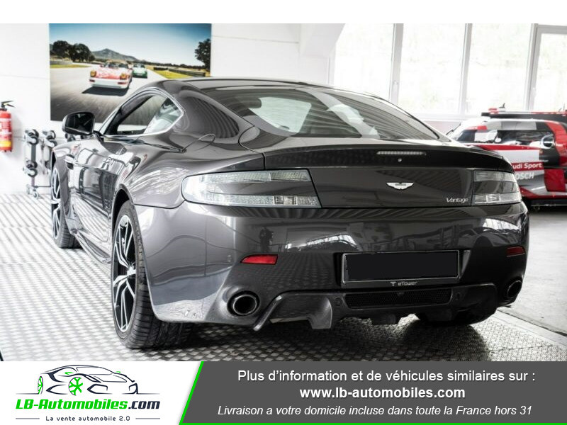 Aston martin V8 Vantage V8 4.7 426 ch Sportshift N420 Gris occasion à Beaupuy - photo n°3