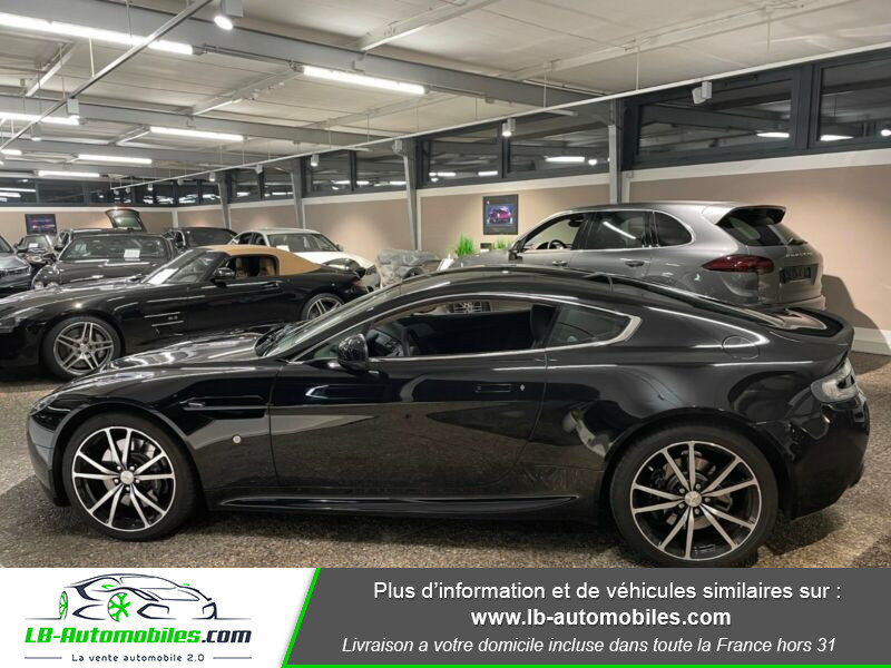 Aston martin V8 Vantage V8 4.7 426 ch Sportshift N420 Noir occasion à Beaupuy - photo n°4