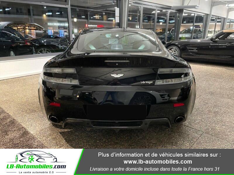 Aston martin V8 Vantage V8 4.7 426 ch Sportshift N420 Noir occasion à Beaupuy - photo n°8