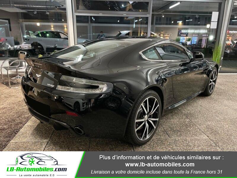 Aston martin V8 Vantage V8 4.7 426 ch Sportshift N420 Noir occasion à Beaupuy - photo n°3