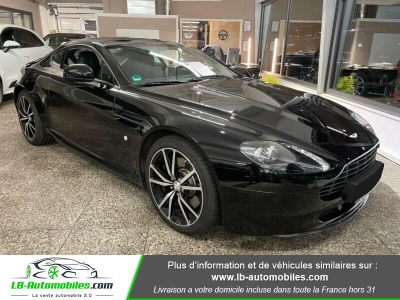 Aston martin V8 Vantage V8 4.7 426 ch Sportshift N420 Noir occasion à Beaupuy - photo n°5