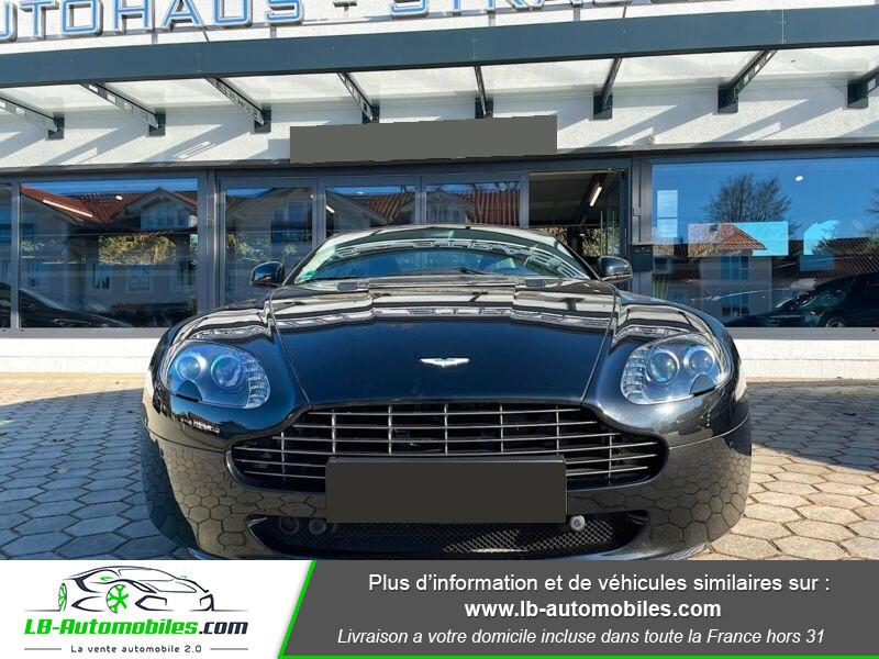 Aston martin V8 Vantage V8 4.7 426 ch Sportshift N420 Noir occasion à Beaupuy - photo n°7