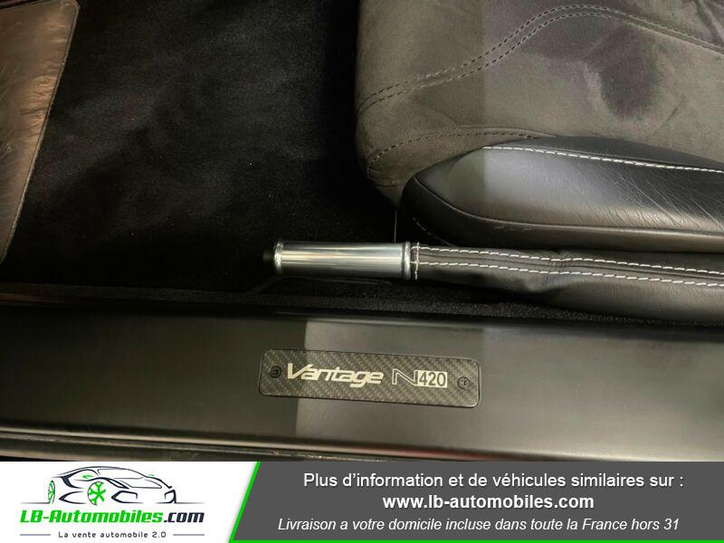 Aston martin V8 Vantage V8 4.7 426 ch Sportshift N420 Noir occasion à Beaupuy - photo n°13