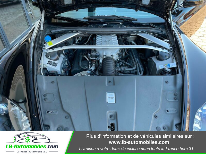 Aston martin V8 Vantage V8 4.7 426 ch Sportshift N420 Noir occasion à Beaupuy - photo n°15