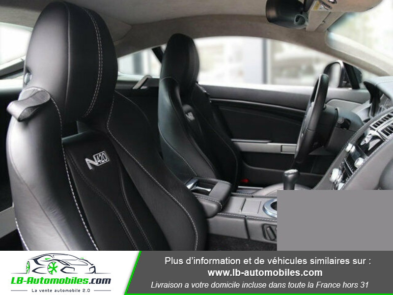 Aston martin V8 Vantage V8 4.7 426 ch Noir occasion à Beaupuy - photo n°18