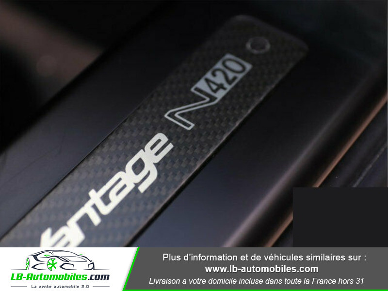 Aston martin V8 Vantage V8 4.7 426 ch Noir occasion à Beaupuy - photo n°10